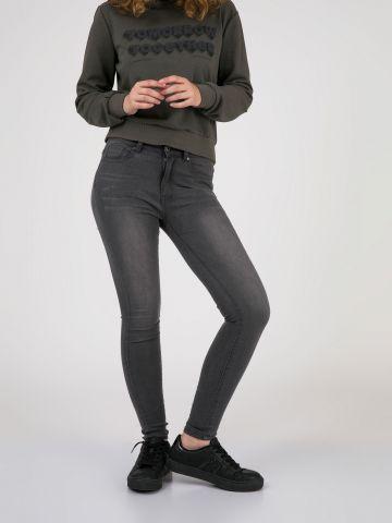 PEARL סקיני ג'ינס בגובה המותן