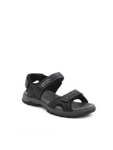 סנדלים שחורים עם רצועות סקוץ'