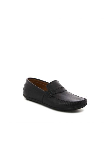 נעלי מוקסין קלאסיות שחורות