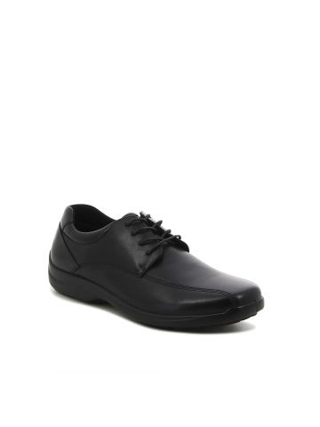נעלי נוחות שחורות עם שרוכים