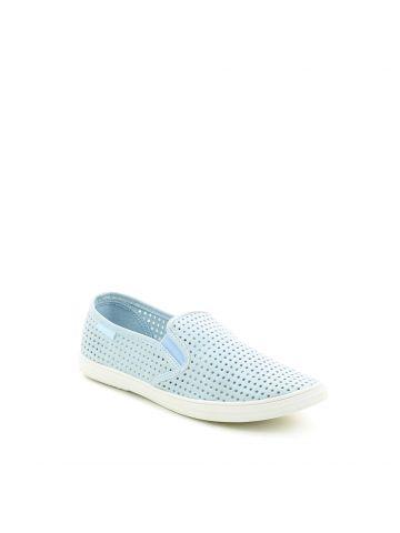 נעלי סליפ און תכלת חירורים