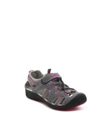 נעלי הליכה ספורטיביות אפורות