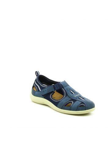 נעלי נוחות שטוחות כחולות