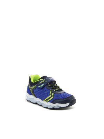 נעלי ספורט כחולות גפה נושמת