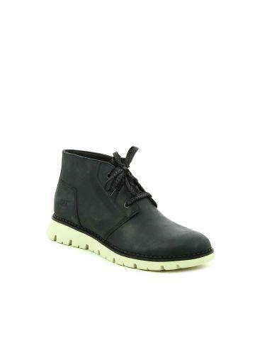 נעלי קז'ואל גבוהות שחורות