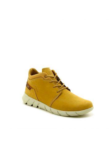 נעלי עור גבוהות יומיומיות