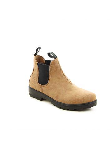 נעליים גבוהות עם גומי בצדדים
