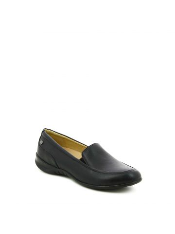 נעלי מוקסין שחורות
