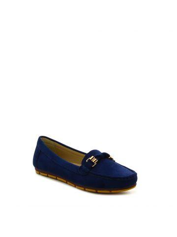 נעלי מוקסין אבזם זהב