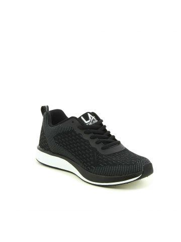 נעלי ג'וגינג רשת שחורות