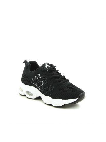 נעלי ספורט סרוגות זיגזג
