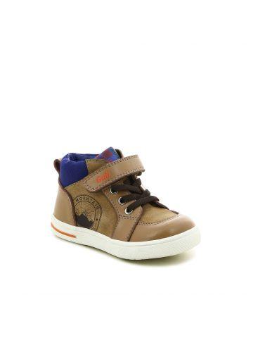 נעלי קז'ואל חתיכיות חומות