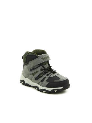 נעלי טיולים גבוהות אפורות