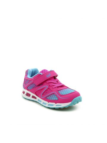 נעלי ספורט פנסים ורודות