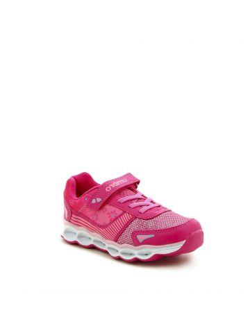 נעלי ספורט פסים ופרחים