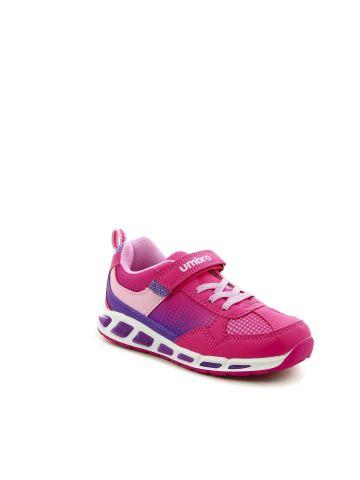 נעלי ספורט מנוקדות פוקסיה