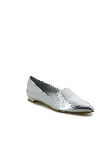 ABEY נעלי מוקסין זהב