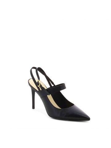 נעלי עקב סטילטו שחורות
