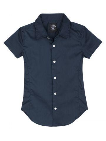 חולצת צווארון מכופתרת