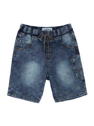 מכנסי ברמודה ג'ינס טרנדיים