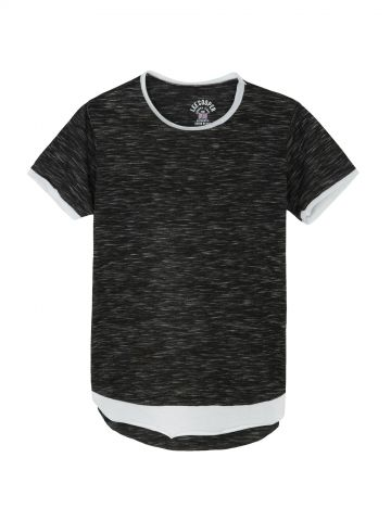 חולצת טי שכבות אופנתית