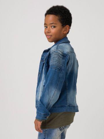 ג'קט ג'ינס חתיכי