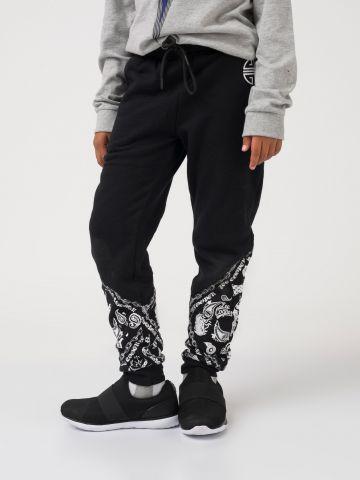 מכנס רוק שחור