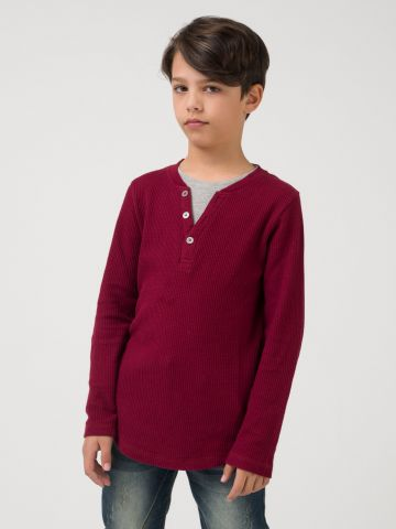 חולצת קז'ואל ספורט אלגנט