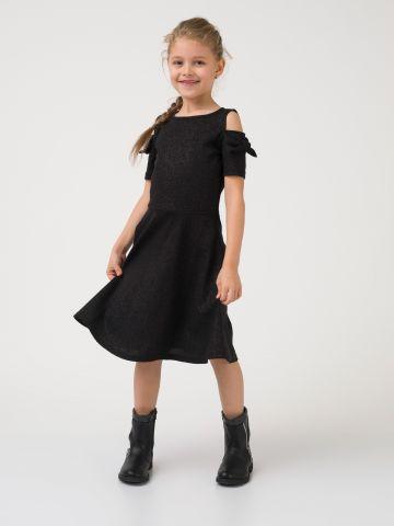 שמלת אריג אוף שולדרס