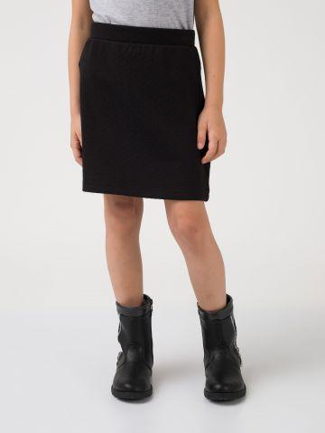 חצאית קווילט קצרה