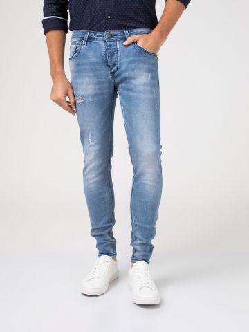MARTIN ג'ינס בהיר בגובה מותן