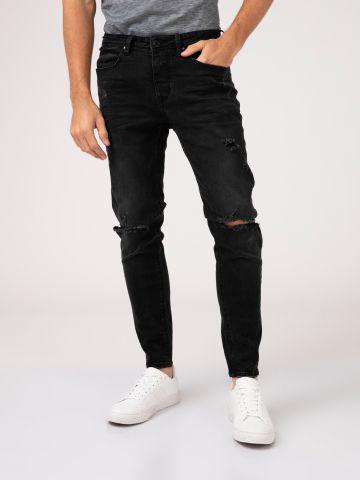 MARTIN ג'ינס סקיני עם קרעים