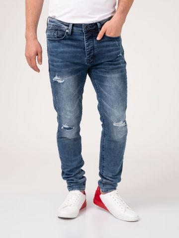 MARTIN JOGG ג'ינס ג'וג קרעים