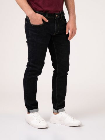 DEAN ג'ינס כהה גזרה נמוכה