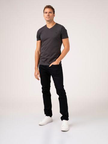 ROOK ג'ינס שחור קלאסי