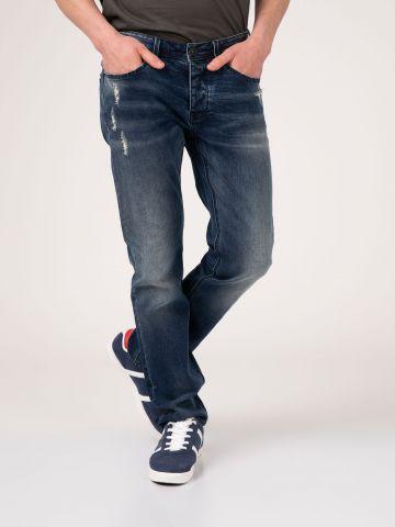 ROOK ג'ינס משופשף במראה יוזד