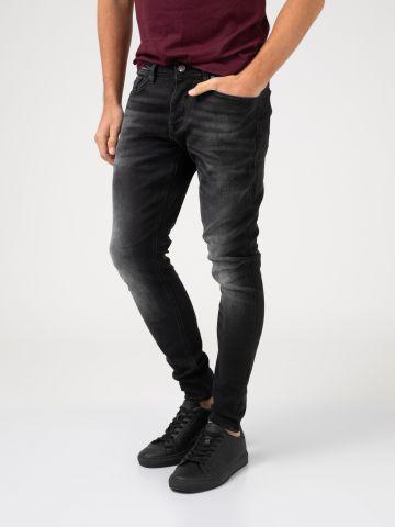 ג'ינס שחור בד איטלקי