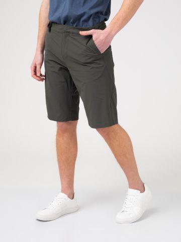מכנסי ברמודה בד ניילון