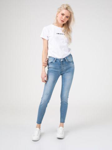 PEARL ג'ינס סקיני חלק