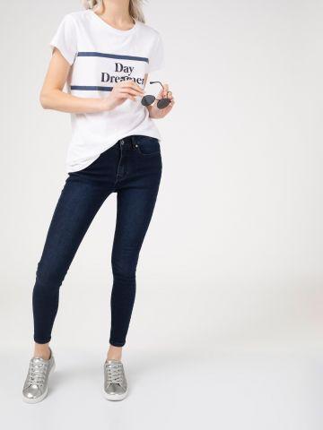 PEARL ג'ינס סקיני חלק קלאסי
