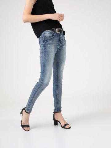 MONA ג'ינס בויפרנד משופשף