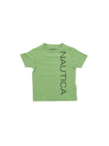 חולצת טי קז'ואל ממותגת  מידות 1-3
