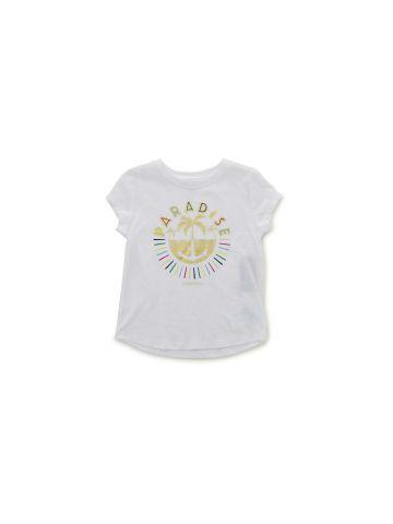 חולצת טי עם הדפס PARADISE מידות 1-3