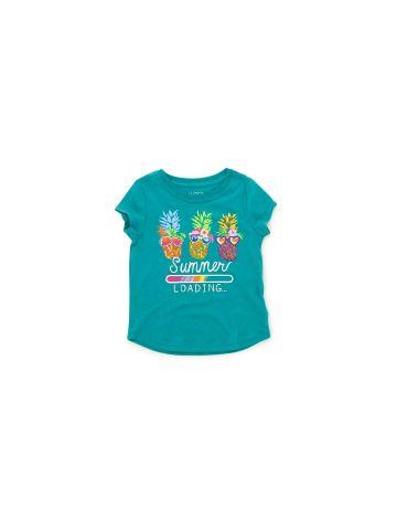 חולצת טי אננס צבעוני מידות 1-3