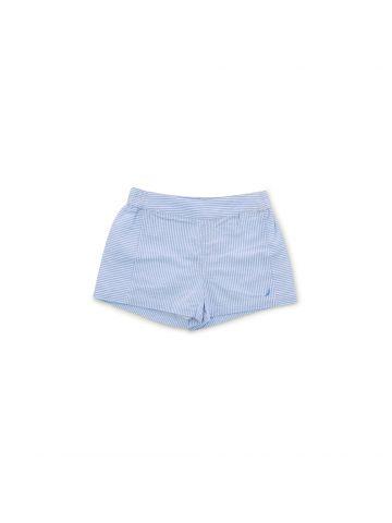 מכנסוני פסים קצרים לילדות  מידות 1-3