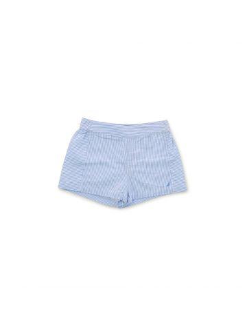 מכנסוני פסים קצרים לילדות  מידות S-XL