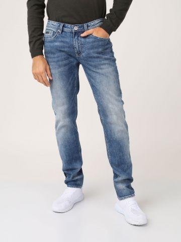 ג'ינס כהה גזרה רחבה