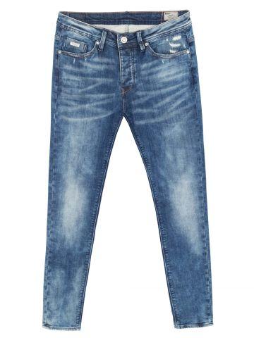 ג'ינס סקיני שפשוף אסיד
