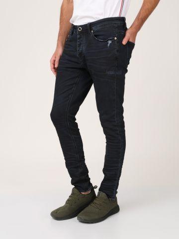 סקיני ג'ינס ג'וג כהה