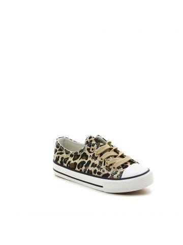 נעלי סניקרס מנומרות לילדות